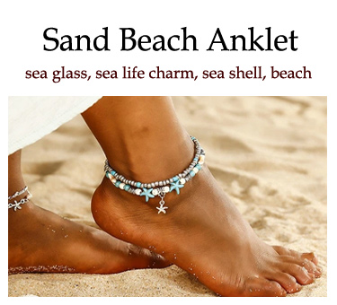 summer beach anklet