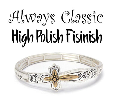 Classic High Polish Finish Jewelry Collection