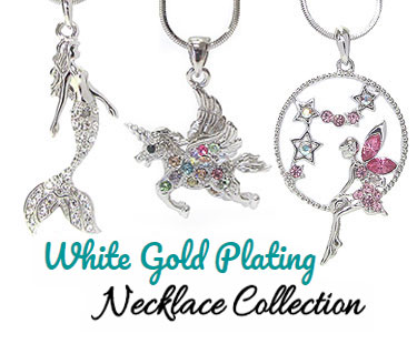 Wholesale whitegold Pendant Necklace
