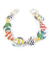 SEALIFE THEME MAGNETIC BRACELET - TROPICAL FISH
