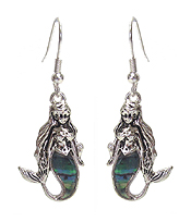 ABALONE MERMAID EARRING