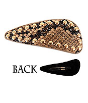 ANIMAL PRINT HAIR PIN
