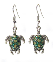 SEA TURTLE EARRING