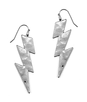 METAL THUNDER EARRING