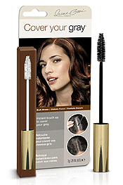 MASCARA TYPE APPLICATOR - PERFECT COVER UP SOLUTION FOR SIDEBURNS AND SCATTERED GRAY HAIRS THROUGHOUT YOUR HAIR - NO WATER NEEDED