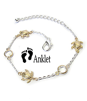 SEALIFE THEME ANKLET - TURTLE