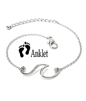 SEALIFE THEME ANKLET - WAVE