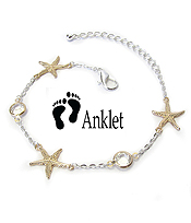 SEALIFE THEME ANKLET - STARFISH