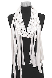 JERSEY WEAVE SCARF - 100% POLYESTER