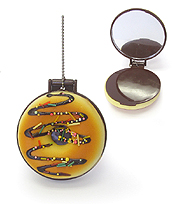 SQUISHY POCKET MIRROR CHARM - DONUT
