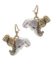 MOM AND DAUGHTER ELEPHANT EARRING