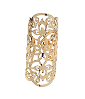 METAL FILIGREE OPEN CUT ADJUSTABLE RING