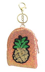 COIN PURSE KEY CHAIN - PINEAPPLE