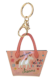 UNICORN BAG KEY CHAIN