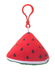 STUFFY PILLOW FRUIT KEY CHAIN - WATER MELON