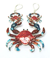 CRAB PENDANT SET