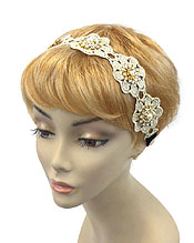 FLOWER LACE HEAD BAND