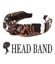 ANIMAL PRINT HEAD BAND