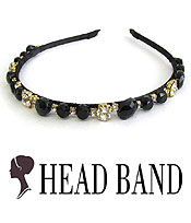CRYSTAL HANDMADE ART CRAFT HEAD BAND