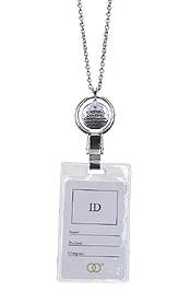 INSPIRATION MESSAGE ID HOLDER NECKLACE - NURSE THEME