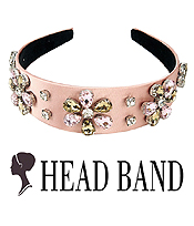 CRYSTAL FLOWER HEAD BAND