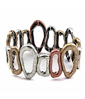CHICOS STYLE VINTAGE METAL STRETCH BRACELET