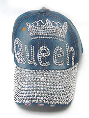 QUEEN DENIM HAT