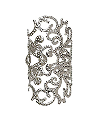 METAL FILIGREE ADJUSTABLE RING