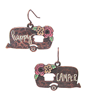 HAPPY CAMPER INSPIRATION EARRING