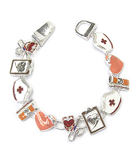 NURSE THEME MAGNETIC BRACELET