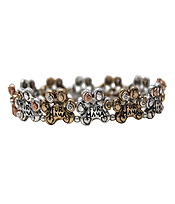 MULTI PAW STRETCH BRACELET - FUR MAMA