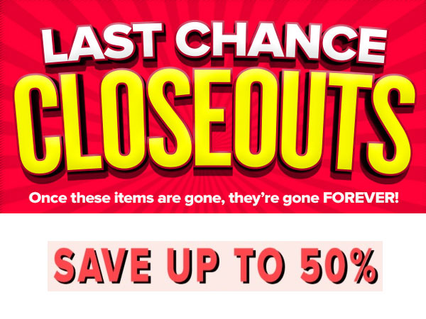 Closeout Collectionn