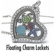 Wholesale floating charm locket jewelry
