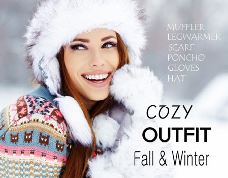 cozy winter accessories