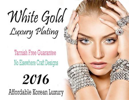 Wholesale Korean White Gold Jewelry