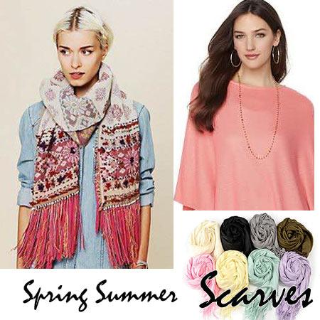 Spring Summer Scarves