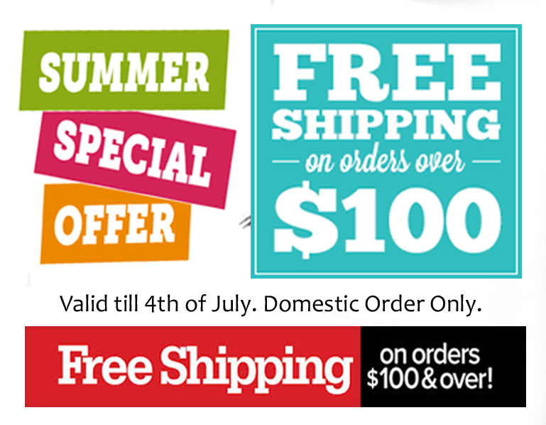 Special Summer Free Shipping Offer