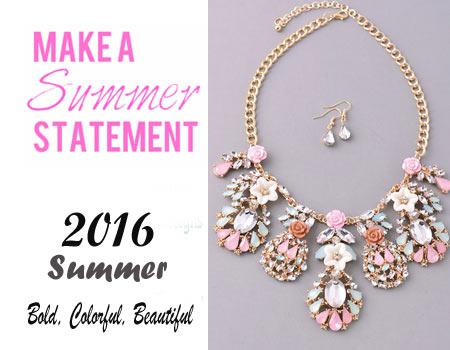Wholesale Summer Statement Jewelry
