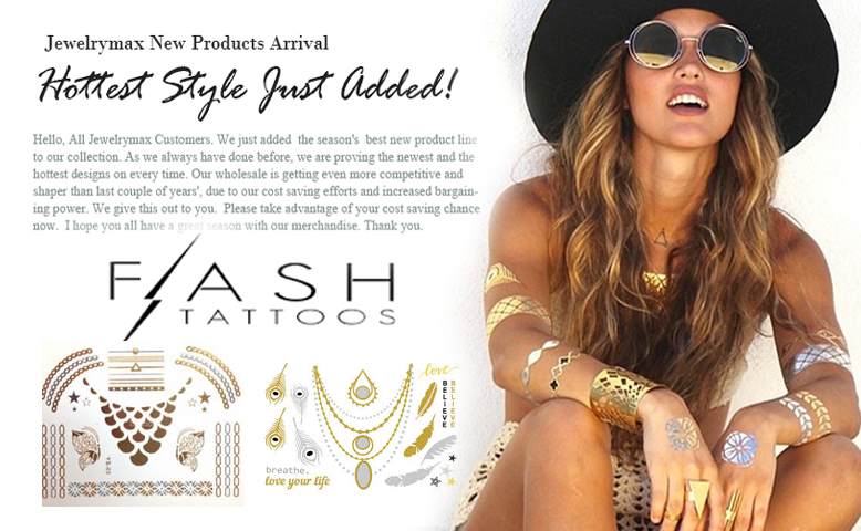 Wholesale Flash Tatttoo jewelry