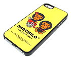 TWO MONKEYS THEME BY BATHING APE HARD CASE FOR CELL PHONE CASE - HARD CASE FOR IPHONE 5