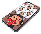 KOBBE LOVE THEME BY BATHING APE HARD CASE FOR CELL PHONE CASE - HARD CASE FOR IPHONE 5