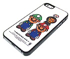 SUPER MARIO AND APE THEME BY BATHING APE HARD CASE FOR CELL PHONE CASE - HARD CASE FOR IPHONE 5