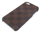 LEATHER SQUARE THEME HARD CASE FOR CELL PHONE CASE - HARD CASE FOR IPHONE 5