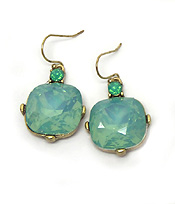 CATHERINE POPESCO iNSPIRED OPAL CRYSTALS EARRING