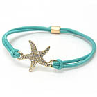 CRYSTAL STARFISH STRETCH BRACELET OR PONYTAIL BAND