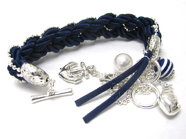 NAUTICAL CHARM BRACELET-NAUTICAL CHARM BRACELET MANUFACTURERS