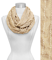 SOFT SOLID INFINITY SCARF - 100% VISCOSE