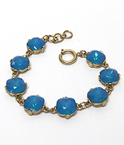 CATHERINE POPESCO INSPIRED OPAL CRYSTALS LINKED BRACELET
