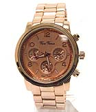 METAL BAND MICHAEL KORS STYLE BOY FRIEND WATCH