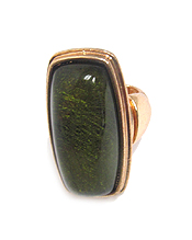 STONE FRONT METAL STRETCH RING